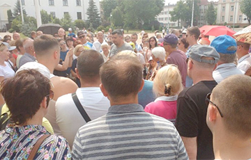 Протестующие против завода АКБ в Бресте: Скорость движения к цели увеличилась в несколько раз