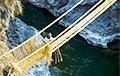 Мост из травы в Перу: как создают это чудо