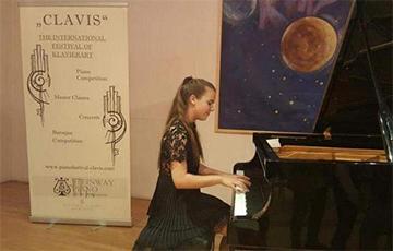 Юная піяністка з Бабруйска стала прызёрам Міжнароднага конкурсу ў Нямеччыне