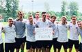 Украинские футболисты сделали фото с плакатом «20% моей страны оккупированы Россией»