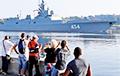 Видеофакт: На Кубу прибыл российский фрегат, несущий крылатые ракеты