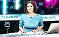 Фотафакт: Вядоўца «Дажджу» выйшла ў эфір з бутэлькай грузінскага віна
