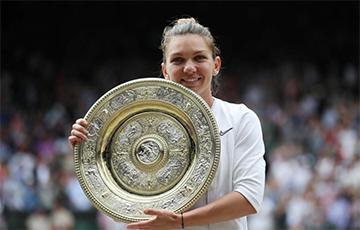 Румынская теннисистка Халеп впервые в карьере выиграла Уимблдон