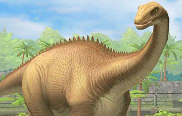Пачатак жыцця дыназаўраў удалося рэканструяваць у 3D