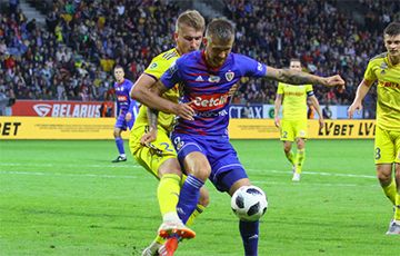 Лига чемпионов: после первого тайма БАТЭ уступает «Пясту» в Гливице