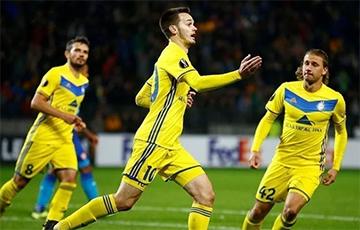 Лига чемпионов: БАТЭ играет вничью с «Русенборгом» после первого тайма