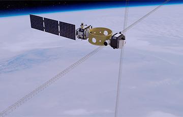 В космосе появился один из самых крупногабаритных спутников