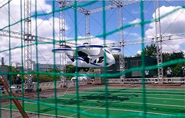 Видеофакт: В Японии представили прототип летающего автомобиля