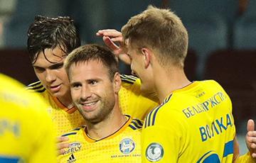 Ліга Еўропы: Пасля першага тайма БАТЭ перамагае «Сараева»