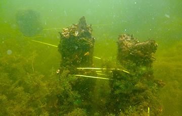 Под Браславом дайверы нашли остатки моста, которому 500 лет