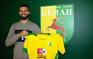 Двукратный чемпион Армении стал игроком «Немана»