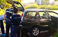 В Глусском районе обнаружили автомобиль с телом мужчины в багажнике