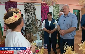 Lukashenka In Iuye: I Don't Know If I'm Gonna Fight You On Tomatoes