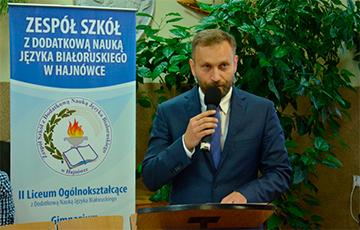Director Of Belarusian Lyceum In Hajnowka Runs For Polish Senate