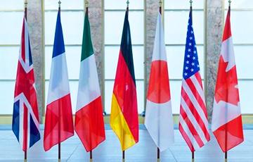 Главы МИД G7 на встрече обсудили ситуацию в Беларуси0
