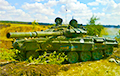 Как украинский журналист снял на видео российский танк под Иловайском