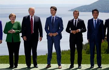 Британия и Канада выступили против возвращения России в G7