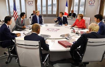 Стала известна общая позиция лидеров G7 по вопросу России