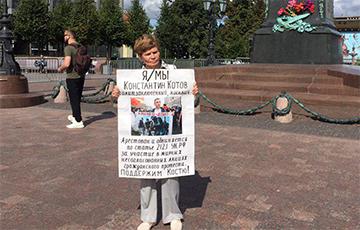В Москве прошли пикеты против политических репрессий