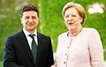 Меркель выступила за проведение переговоров между Зеленским и Путиным