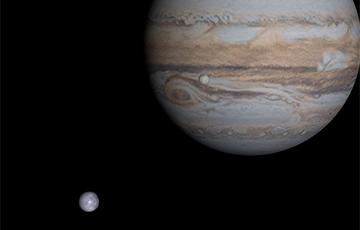 Пять спутников Юпитера получили имена