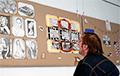 "Exhibition ""Ales Pushkin's Prison Drawings"" Prepared In Minsk"