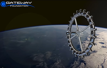 На орбите построят космический отель на 400 туристов