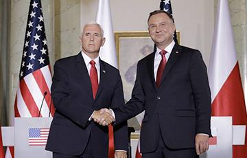 Пенс: Польша и США являются не только союзниками, но и семьей