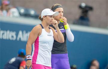 Азаренко и Барти вышли в 1/4 финала парного разряда US Open