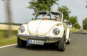 Легендарный Volkswagen «Жук» стал электромобилем
