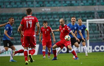Эстонский защитник назвал игрока сборной Беларуси медведем