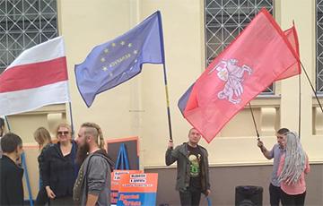 В Минске прошли пикеты «Европейской Беларуси»: видео