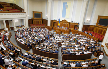 Ukraine's MPs Stand For Imposing Sanctions Against Lukashenka, His Accomplices
