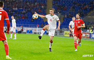 Новый тренер футбольной сборной Беларуси начал очень интересно