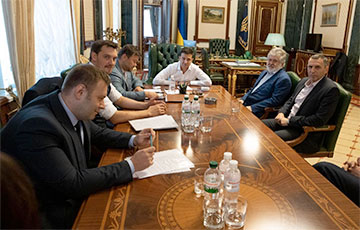 Зеленский провел встречу с Коломойским