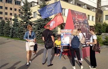 «Европейская Беларусь» проводит новые пикеты по сбору подписей