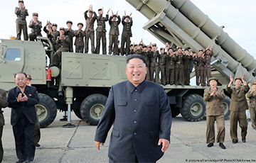 КНДР объявила о тесте сверхгабаритной реактивной системе залпового огня