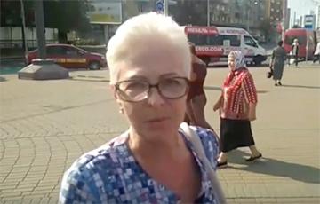 Минчанка: Всегда поддерживала Андрея Санникова и тех, кто продолжает его дело