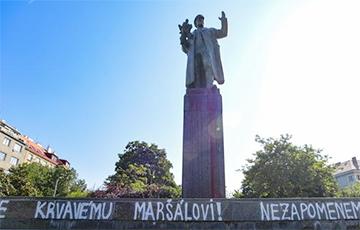 Прага вызвала посла РФ из-за претензий по памятнику Коневу