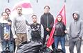 Активисты «Европейской Беларуси» провели «экологическую вылазку» в Молодечно