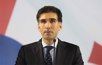 Сын президента Грузии получил работу в Елисейском дворце