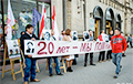 Activists Reminded About Missing Politicians In Minsk Center