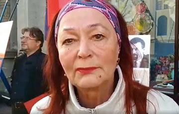 Минчанка: Времени нет, надо власть менять