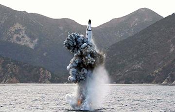СМІ: КНДР рыхтуе да спуску на ваду субмарыну з ракетамі на борце