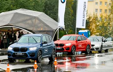 У Менск прывезлі найноўшыя спарткары BMW