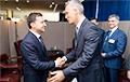 Зяленскі сустрэўся з генсекам NATO