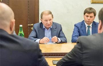 Опубликовано письмо Кучмы о согласии с формулой Штайнмайера