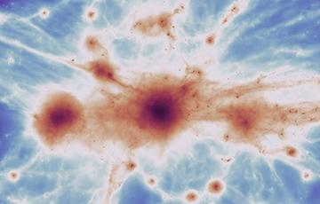 Ученые получили первый снимок «паутины Вселенной»