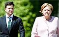 Зеленский провел переговоры с Меркель