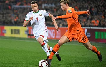 Беларусь - Нідэрланды - 1:2